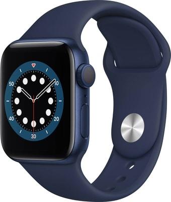 Умные часы Apple Watch Series 6 40 мм (алюминий синий/темный ультрамарин)