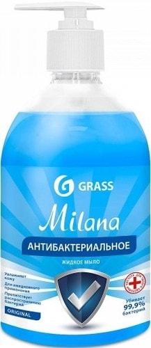 GrassМыложидкоеантибактериальноеMilanaOriginalфлакон500мл