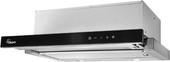 Кухонная вытяжка Akpo Light Glass Twin Touch 60 WK-7 (нержавеющая сталь/черный)