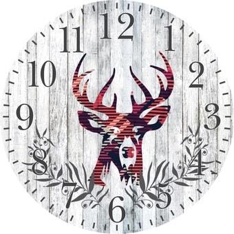 Настенные часы Platinet PZDC (серый)