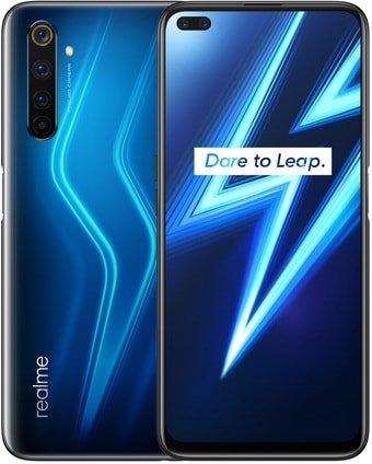 Смартфон Realme 6 Pro 8GB/128GB международная версия (синий)