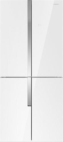 Четырёхдверный холодильник MAUNFELD MFF182NFW