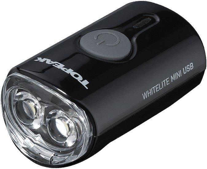 Велосипедный фонарь Topeak WhiteLite Mini USB (черный)