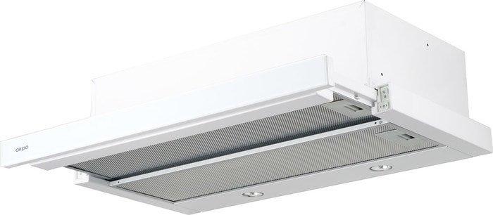 Кухонная вытяжка Akpo Light eco glass twin 60 WK-7 (белый)