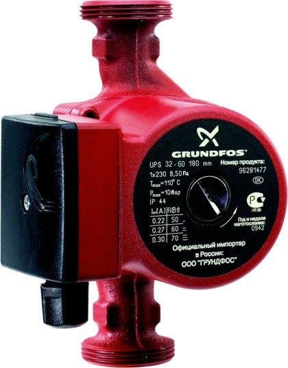 Циркуляционный насос Grundfos UPS 32-60 180