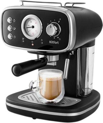 Рожковая помповая кофеварка Kitfort KT-736