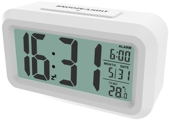 Радиочасы Ritmix CAT-100 (белый)