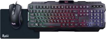 Клавиатура + мышь с ковриком SmartBuy SBC-307728G-K