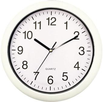 Настенные часы Platinet PZRAW (белый)