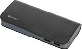 Портативное зарядное устройство Platinet PMPB11LB (черный/серый)
