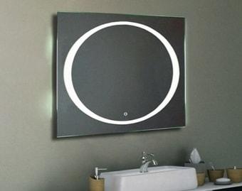 Континент Зеркало Galaxy LED 100×80