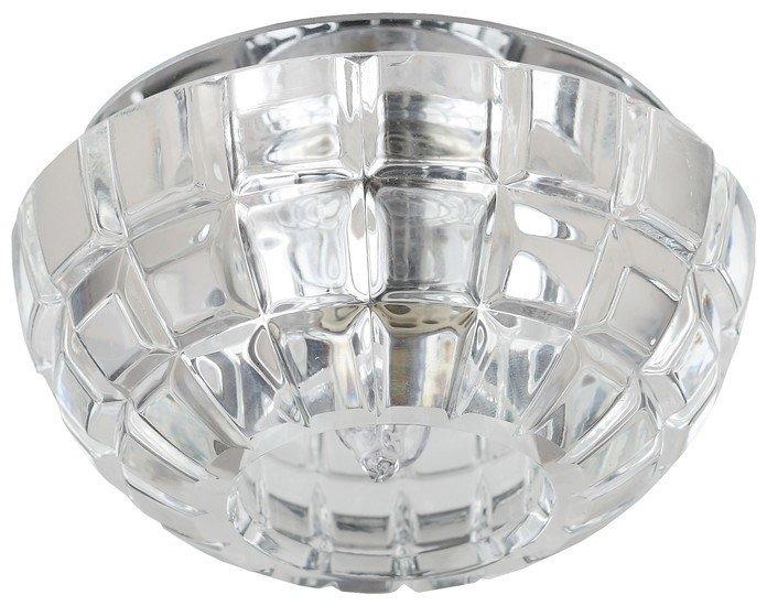 Точечный светильник ЭРА DK45 CH/WH (хром/прозрачный)