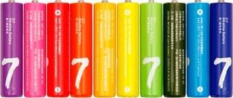 Батарейки Xiaomi Rainbow ZI7 AAA 10 шт.