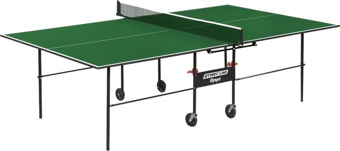 Теннисный стол Start Line Olympic (зеленый, с сеткой)