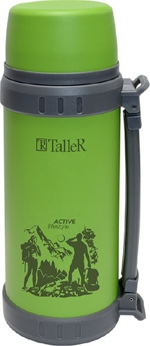 Термос Taller TR-2420 1.1л (зеленый)