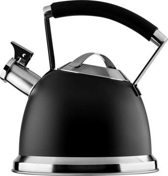 Чайник со свистком Ardesto Black Mars AR0747KS