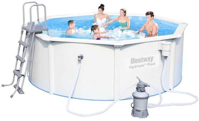 Каркасный бассейн Bestway Hydrium Pool 360×120 [56574]
