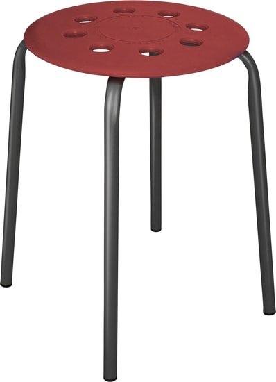 Табурет Nika ТП01 (бордовый)