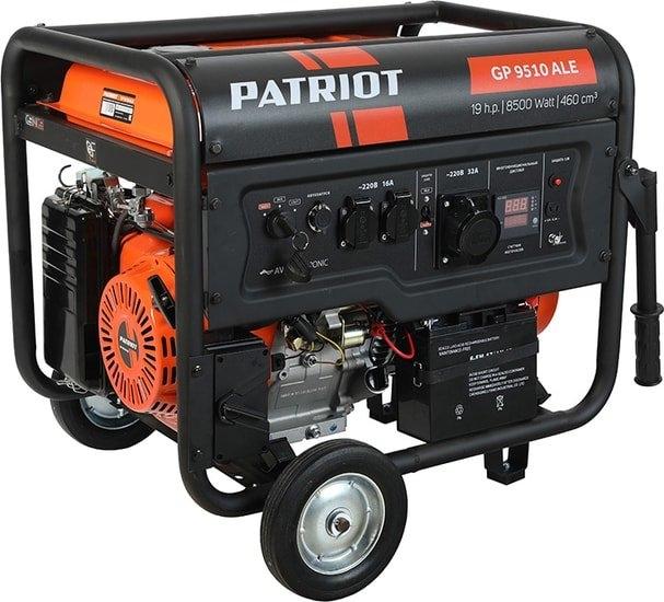 Бензиновый генератор Patriot GP 9510ALE