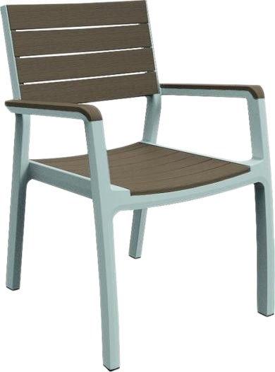 Кресло Keter Harmony Armchair 17201284 (белый/капучино)