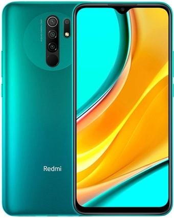 Смартфон Xiaomi Redmi 9 4GB/64GB международная версия без NFC (зеленый)