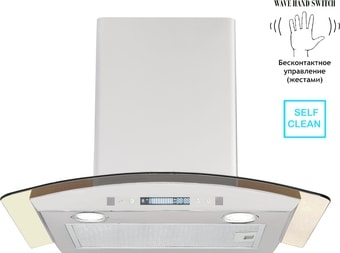 Кухонная вытяжка Backer QD60E-MC White 12K