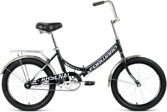 Велосипед Forward Arsenal 20 1.0 р.14 2021 (черный)