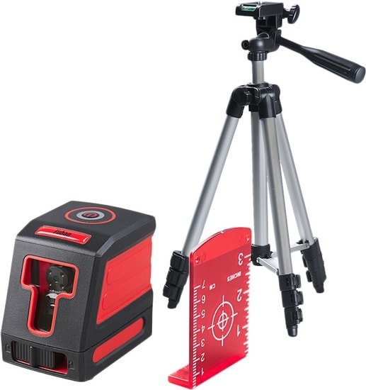 Лазерный нивелир Fubag Crystal 10R VH Set 31623