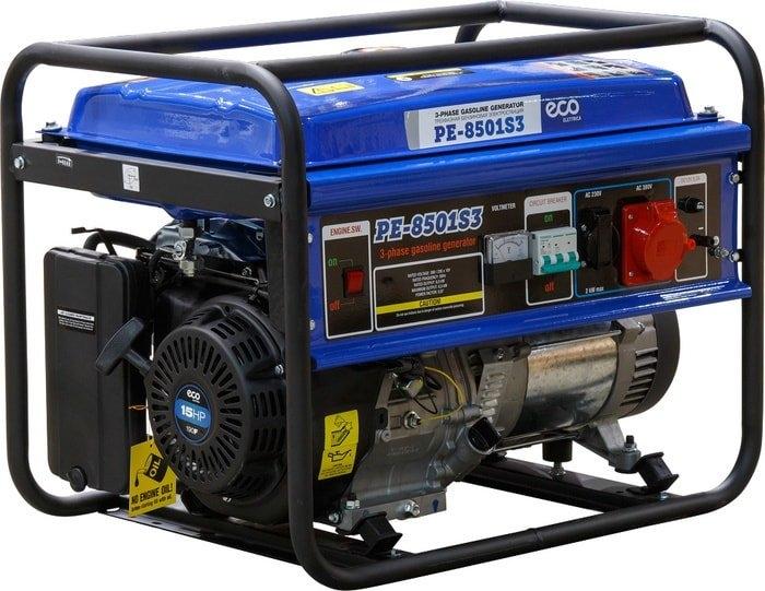 Бензиновый генератор ECO PE-8501S3