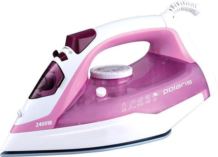 Утюг Polaris PIR 2478K белый/розовый
