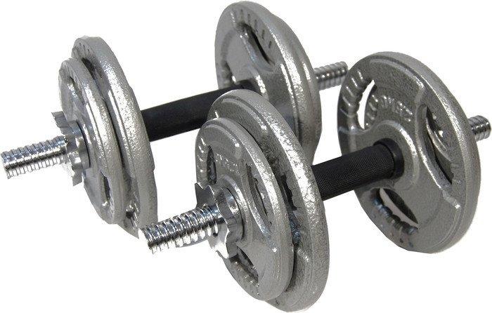 Гантели Atlas Sport Хаммертон 2×19 кг