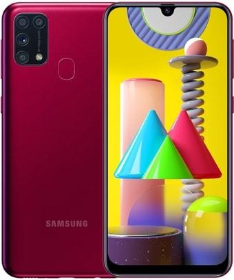Смартфон Samsung Galaxy M31 SM-M315F/DSN 6GB/128GB (красный)