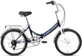 Велосипед Forward Arsenal 20 2.0 р.14 2021 (синий/белый)