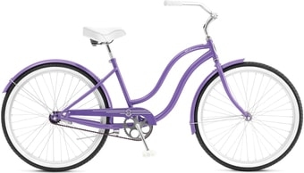 Велосипед Schwinn S1 Women (фиолетовый, 2019)