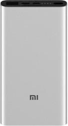 Портативное зарядное устройство Xiaomi Mi Power Bank 3 PLM12ZM 10000mAh (серебристый)