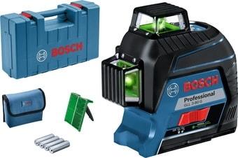 Лазерный нивелир Bosch GLL 3-80 G Professional 0601063Y00 (кейс, лазерная мишень)
