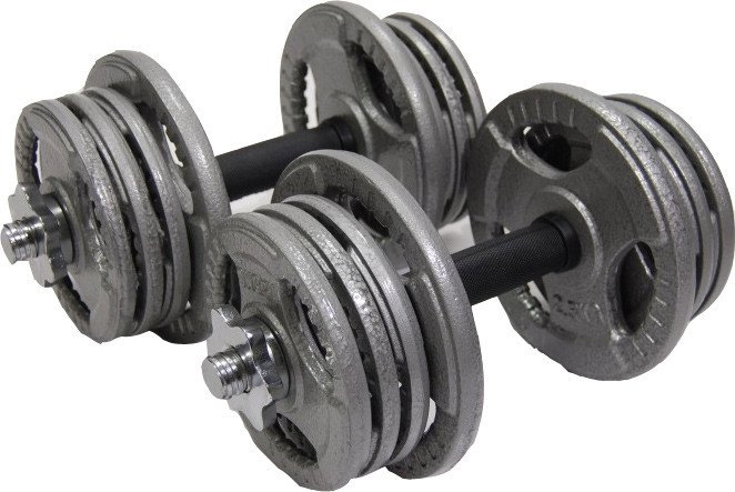 Гантели Atlas Sport Хаммертон 2×16.5 кг