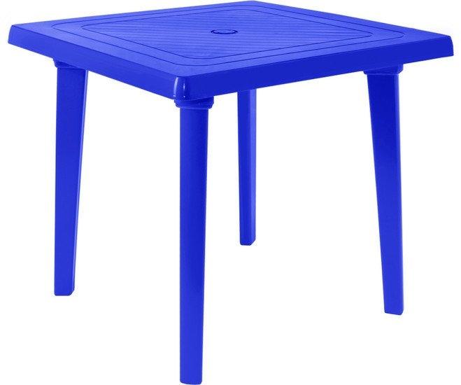 Стол Алеана Квадратный 80х80 см (синий)