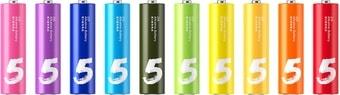 Батарейки Xiaomi Rainbow ZI5 AA 10 шт.