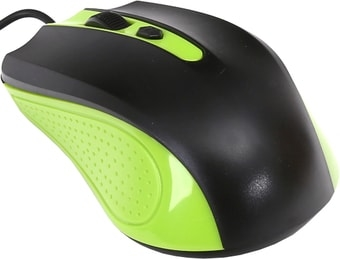 Мышь Omega OM-05 (черный/зеленый)