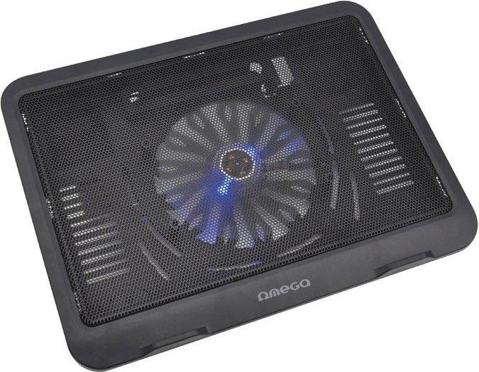 Подставка для ноутбука Omega Wind (черный)