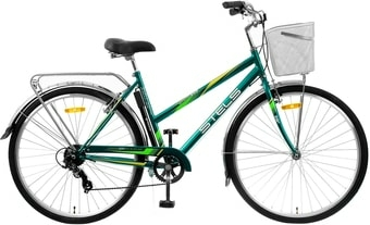 Велосипед Stels Navigator 350 Lady 28 Z010 2021 (зеленый)