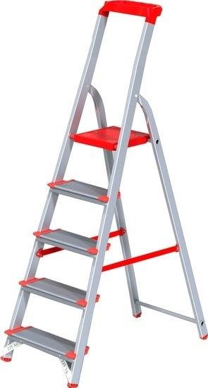 Лестница-стремянка Новая высота NV 515 с лотком-органайзером 9 ступеней