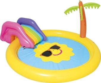 Надувной бассейн Bestway Солнышко 53071 (237х201х104)