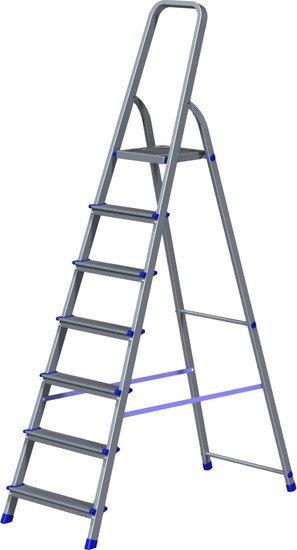 Лестница-стремянка Новая высота NV 111 алюминиевая 7 ступеней (1110107)
