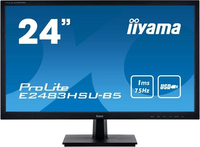 Монитор Iiyama ProLite E2483HSU-B5