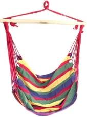 Кресло-гамак Sipl 100×90 см (красный/зеленый)
