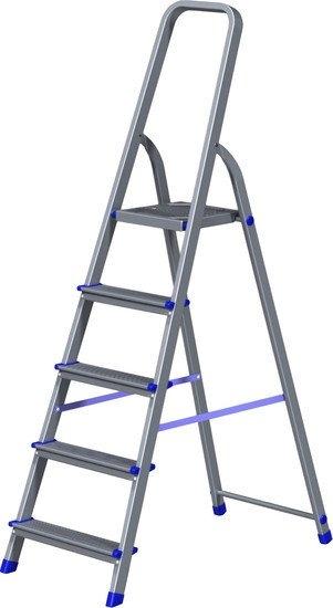 Лестница-стремянка Новая высота NV 111 алюминиевая 5 ступеней (1110105)