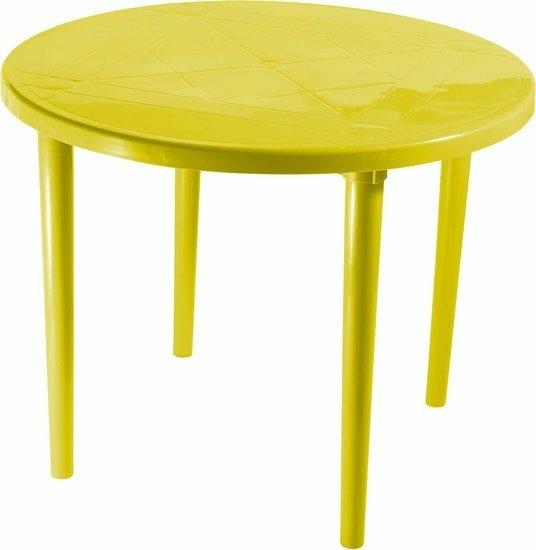Стол Стандарт пластик 130-0022-17 (желтый)