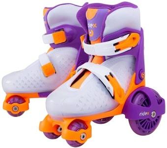 Роликовые коньки Ridex Fortuna (р. 26-29, фиолетовый)